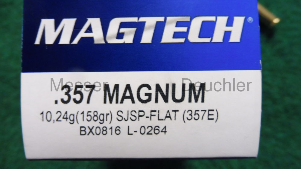 MAGTECH Teilmantel Flachkopf 158 Grain