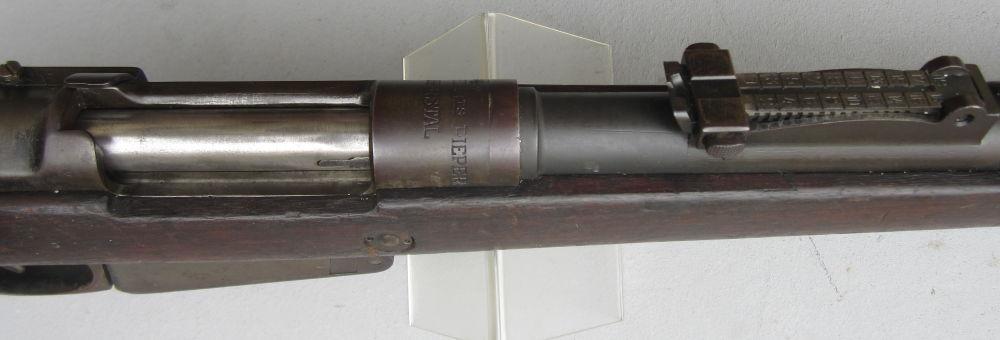 Ordonnanz Belgien PIEPER HERSTAL BELGIEN 1889/36 short Rifle