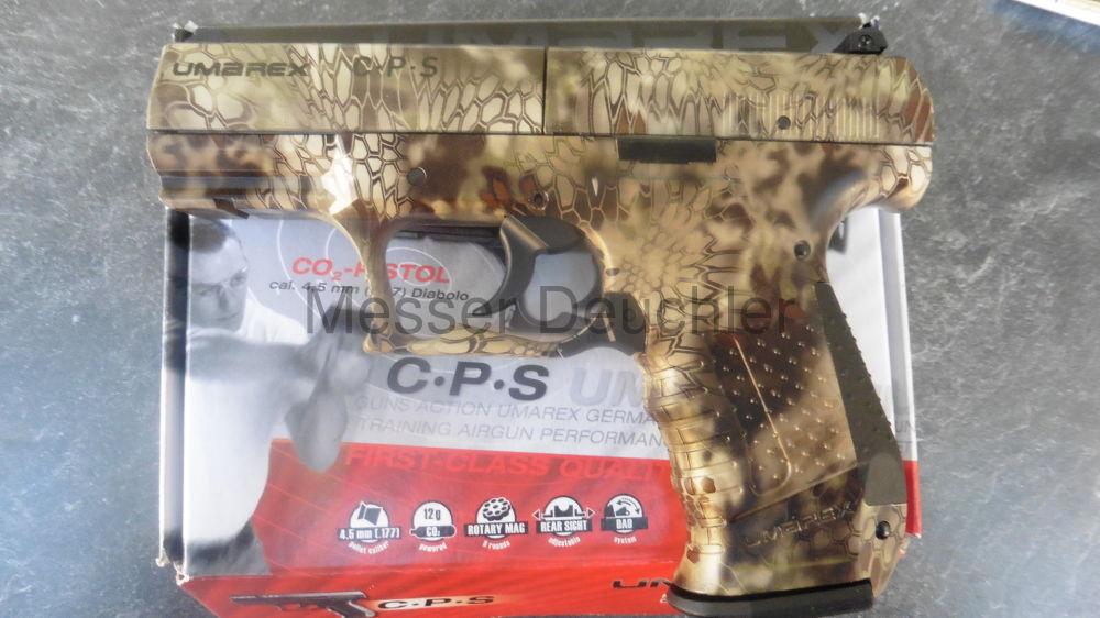 Umarex CPS CO² CPS CO²  Kal. 4,5 mm  Kryptek