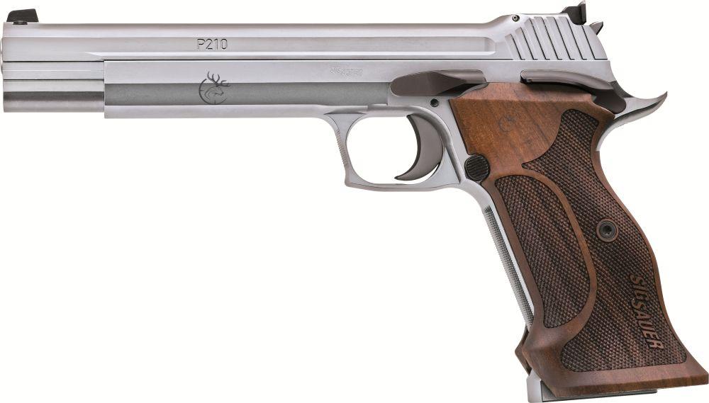 "Sig Sauer P210 6"" Super Target Silver"