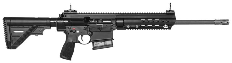 "Heckler & Koch MR308 A3 Slim Line 16,5"" in Schwarz"