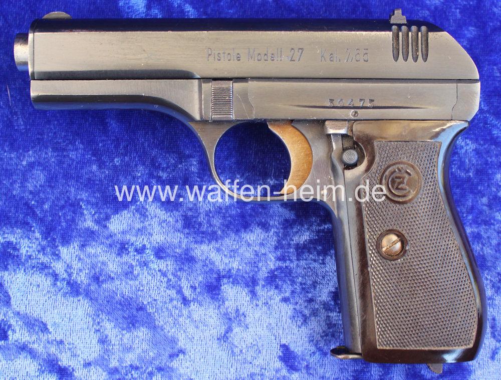 Böhmische Waffenfabrik A.G. Mod. 27