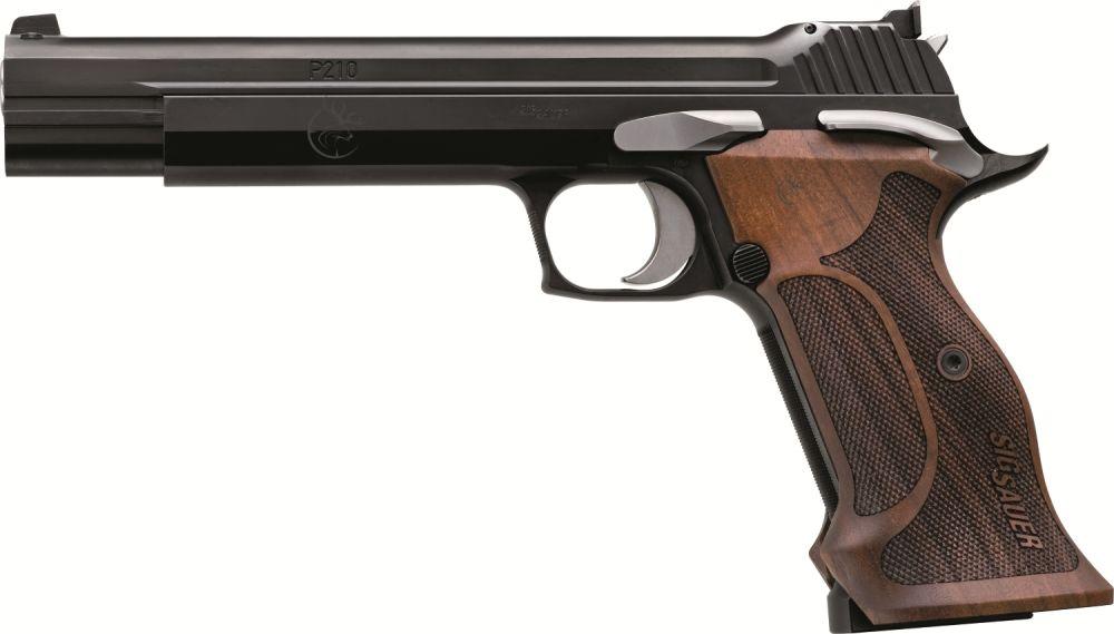 """Sig Sauer P210 6"""" Super Target Schwarz"""