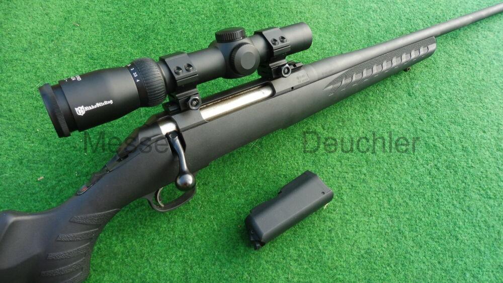 Ruger Amerikan Rifle mit Drückjagdzielfernrohr fertig montiert