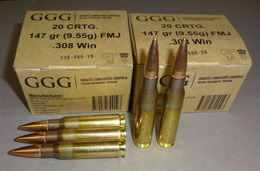 GGG Litauen GGG 308 Win. FMJ