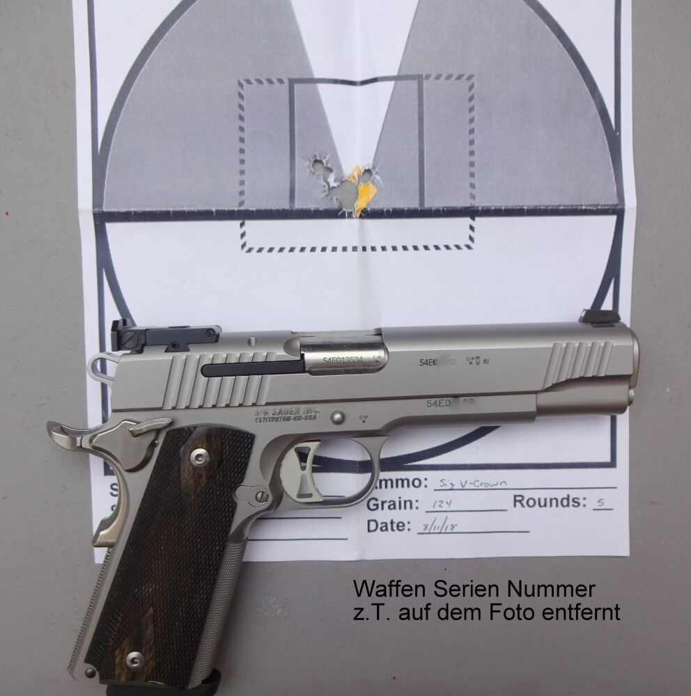SIG SAUER 1911 Traditional Match Elite Target