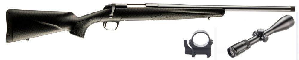 Browning X-Bolt Carbon Optik Komplettpaket