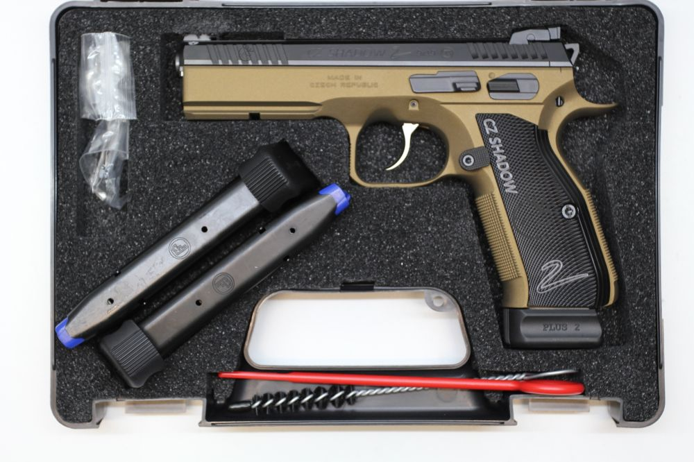 CZ 75 Shadow 2 Bronze Faude Edition