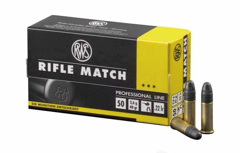 RWS Blei Rundkopf Rifle Match 2,6g/40grs.