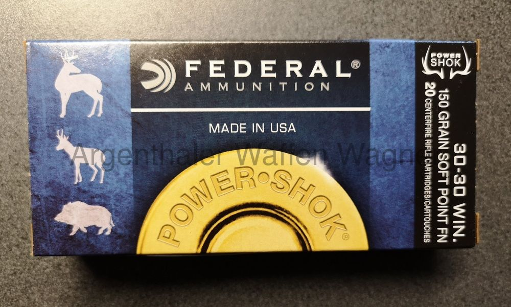 Federal Power Shok Soft P. 150gr  A20 .30-30 WIN