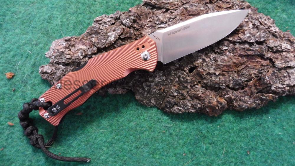 Böker Messer Manufaktur Solingen H7 Special Edition Rosegold