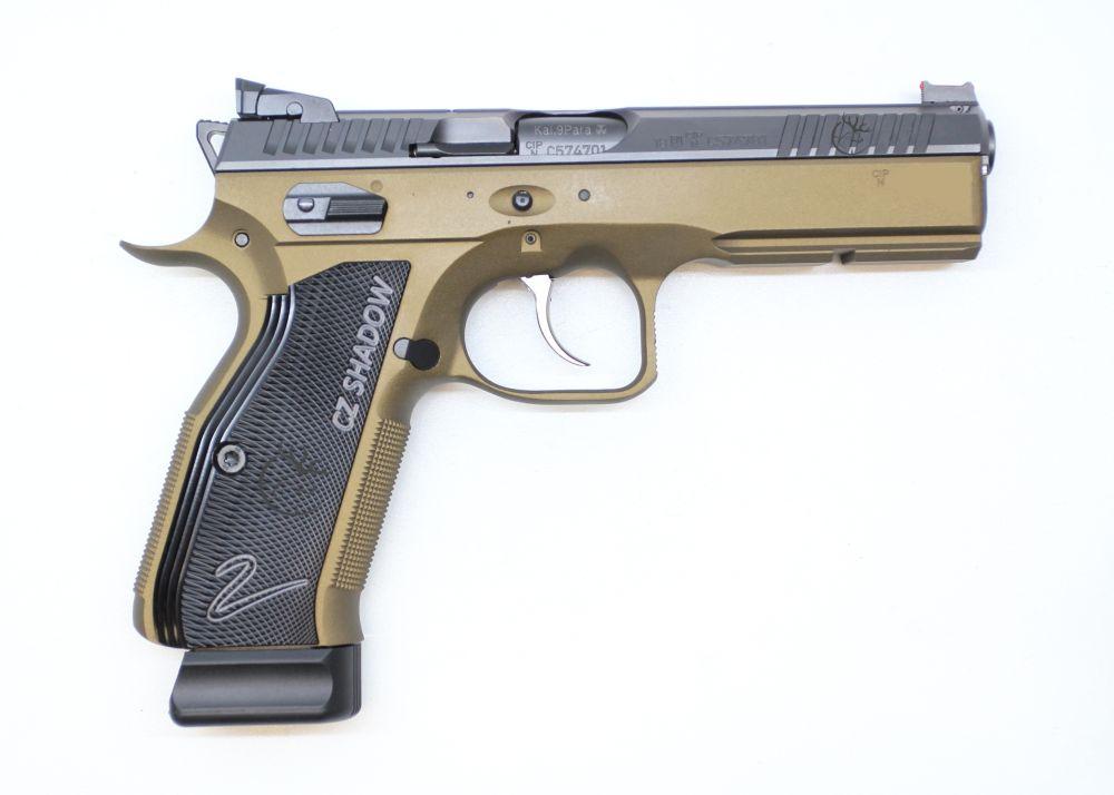 CZ 75 Shadow 2 Bronze Faude Edition
