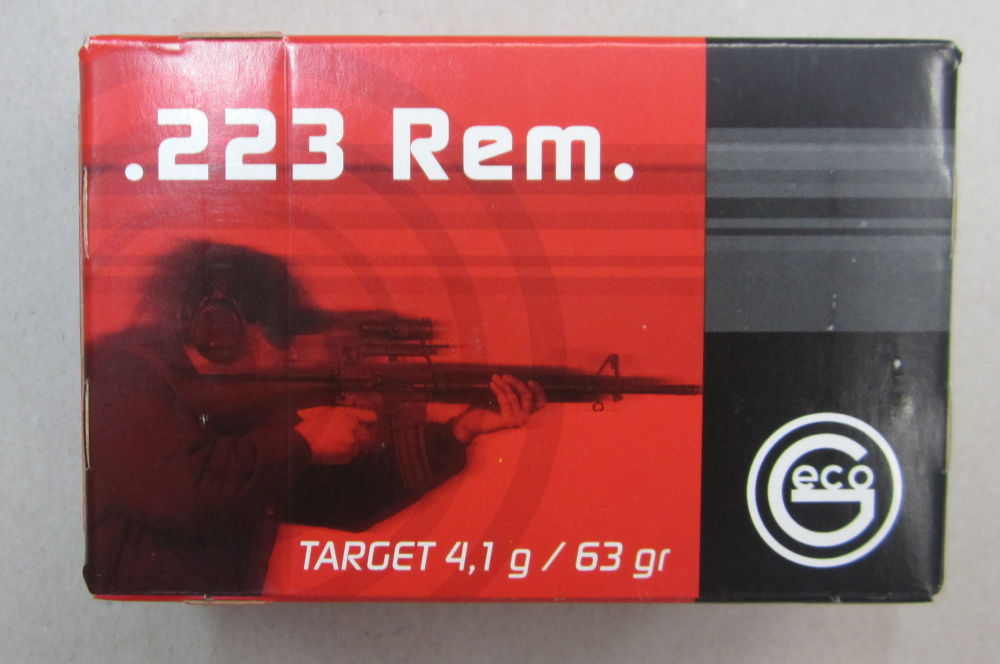 GECO .223 Rem. FMJ Target 63 grain / 4,1 gramm