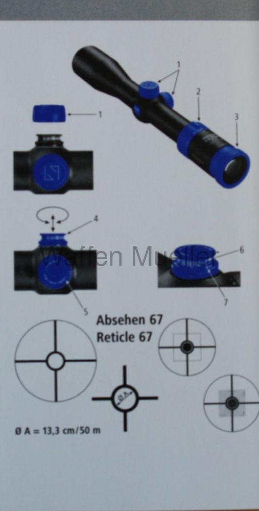 Carl Zeiss Zielfernrohr Sports Optics Classic 2,5 - 10 x 42