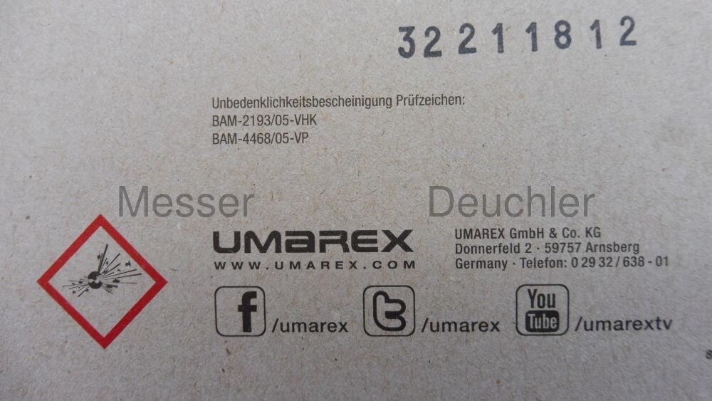 Umarex Tactical Ratterpatronen, Vogelschreck, 50 Stück (P18)