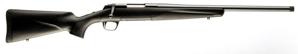 Browning X-Bolt Carbon mit Semi Weight Lauf und Gewinde