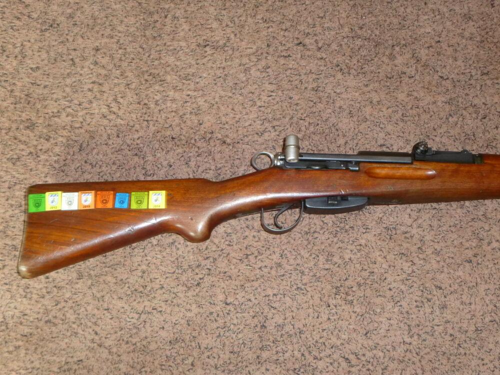 Schmidt Rubin K31 mit Furter Feinvisierung