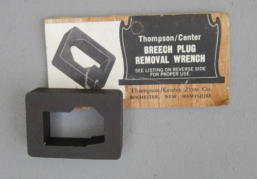 THOMPSON CENTER USA Schwanzschrauben Schlüssel für Vorderlader Perkussions Waffen