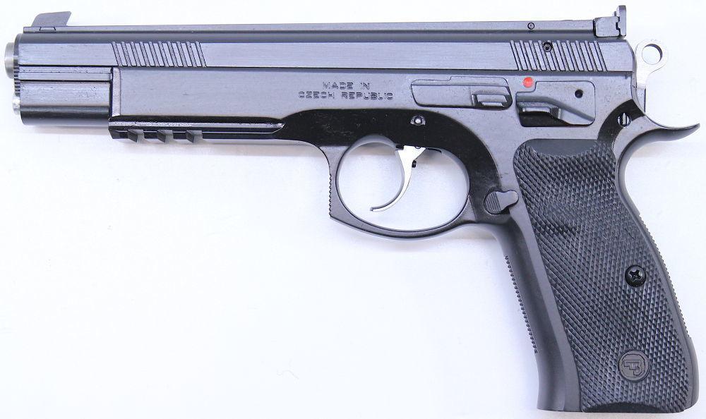 """CZ 75 Shadow Viper 6"""" SA Abzug"""