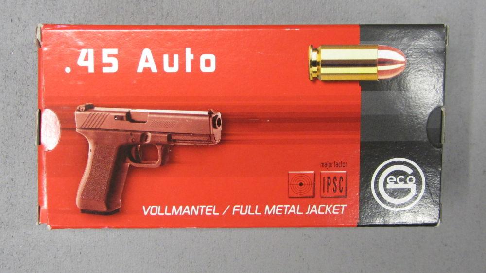 GECO 45 ACP Vollmantel  VMR