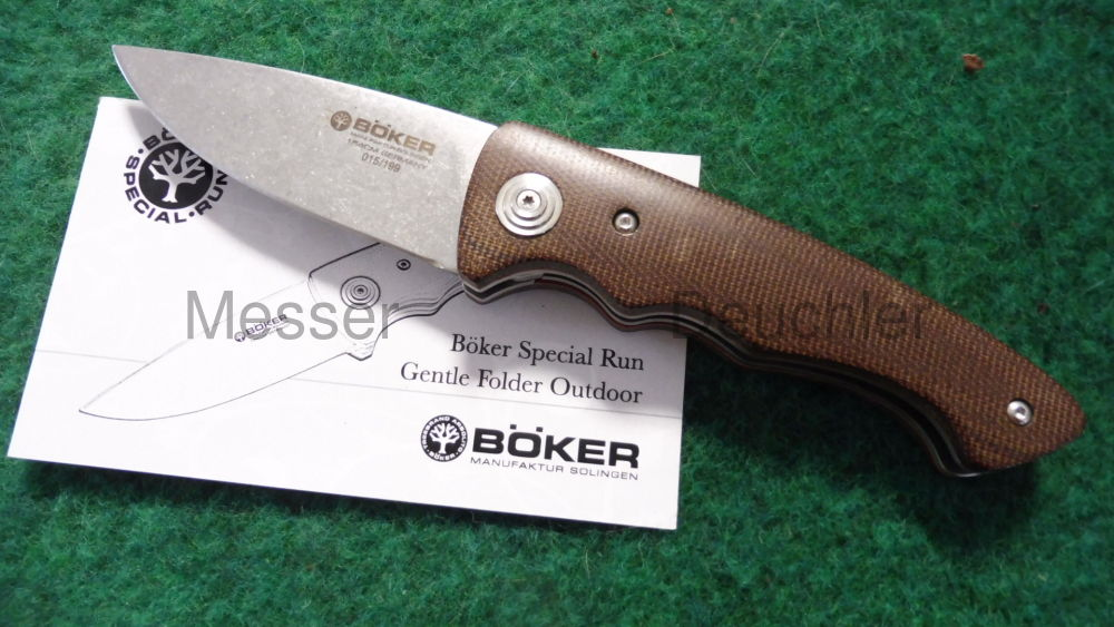 Böker Messer Manufaktur Solingen Böker Special Run Gentle Folder Outdoor