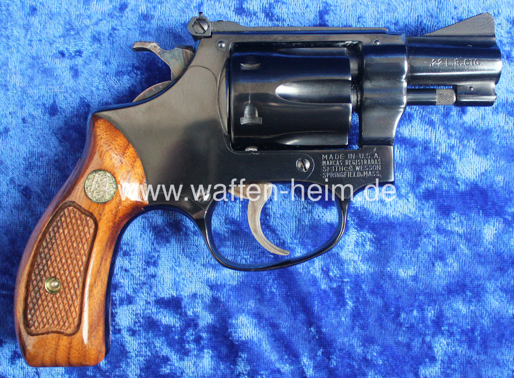 Smith & Wesson 34 - 1 / 2""