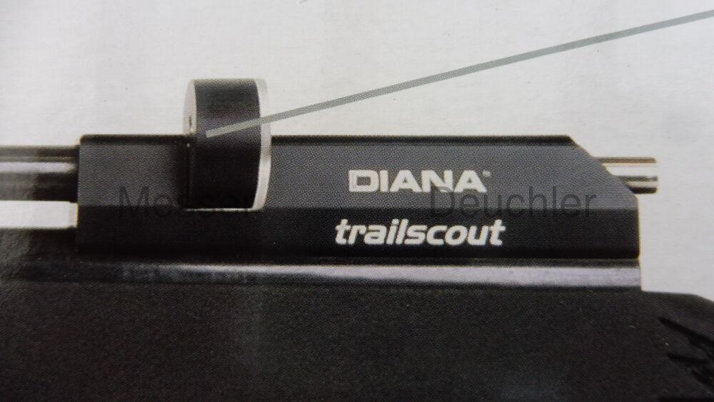 Diana trailscout Diana trailscout montiert mit ZFR 6x32