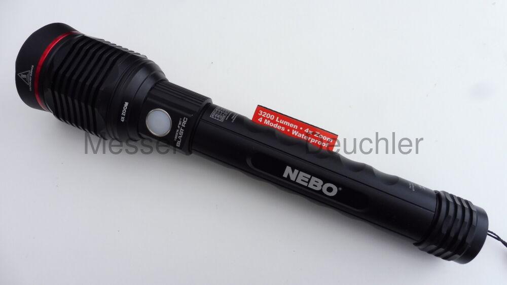 NEBO LED Taschenlampe REDLINE BLAST RC