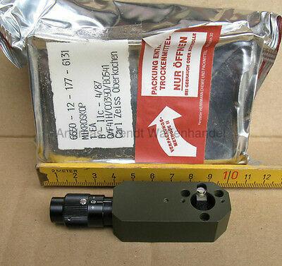 Mikroskop 40fach CARL ZEISS Richtkreis RK76 Okular Prisma Ableselupe 6650-12-177-6131