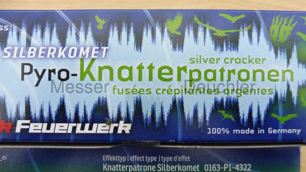 Zink Knatter Silberkomet im Kaliber 15mm