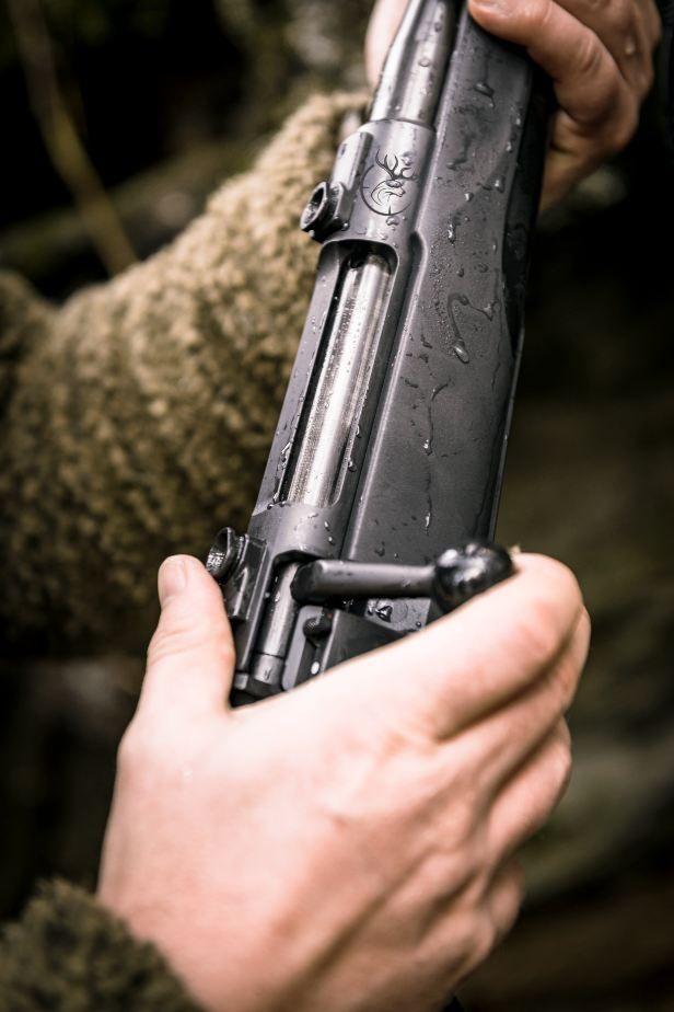 Mauser M18 mit Gewinde