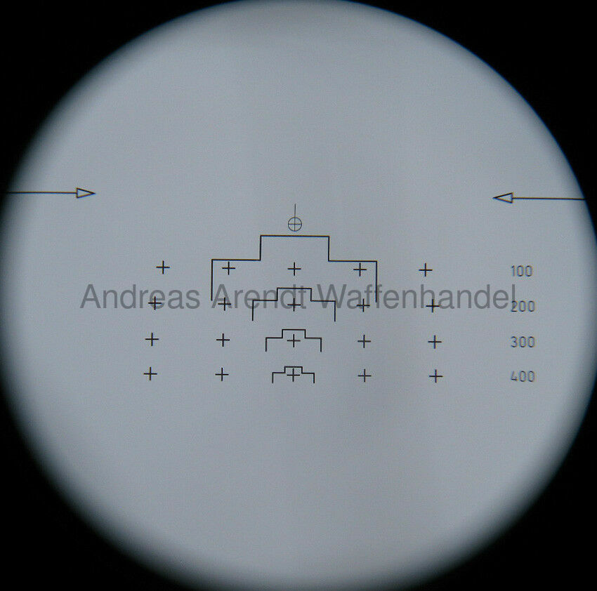 Zielfernrohr Hensoldt Wetzlar 2,6x13° mit Tasche 1240-12-178-2153