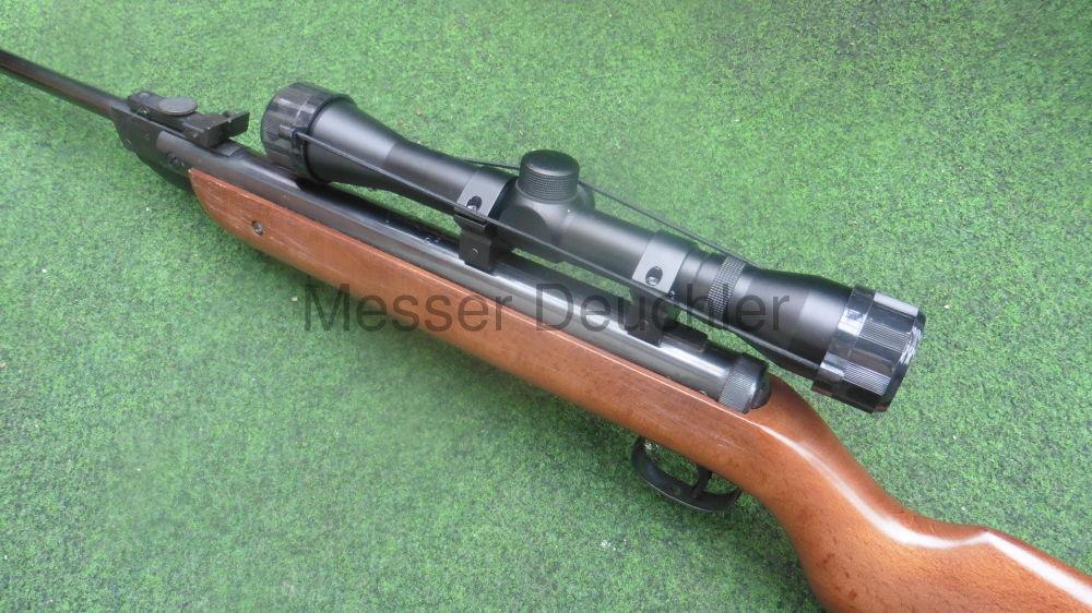 Luftgewehr Diana Mod. 27 komplett mit neuem Zielfernrohr 4x32