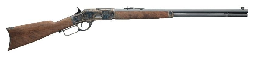Winchester 1873 Sporter Octagon Color Case Hardened mit Achtkantlauf  (MIROKU FERTIGUNG) Auf Lager
