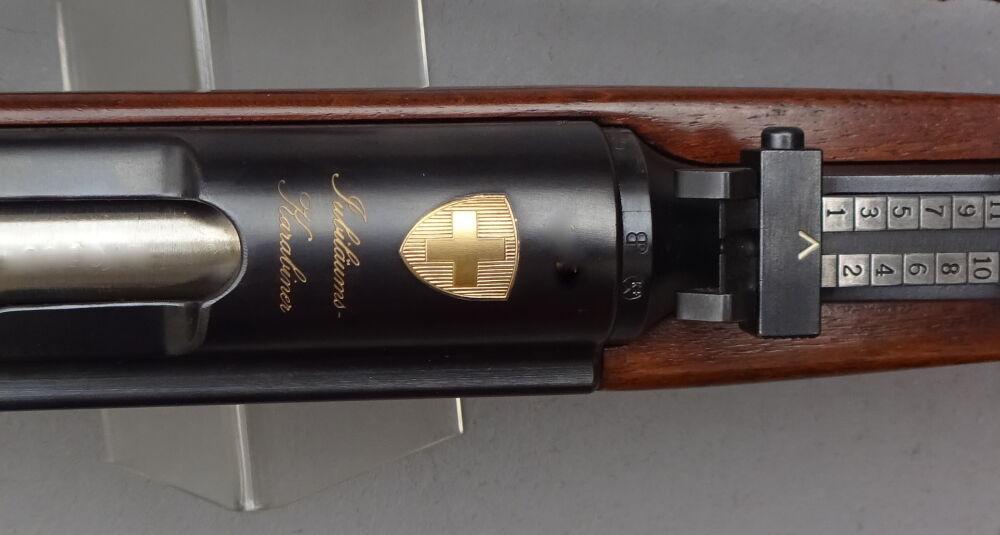 """WAFFENFABRIK BERN Karabiner K 31 Privatausführung  """"GOLD"""""""
