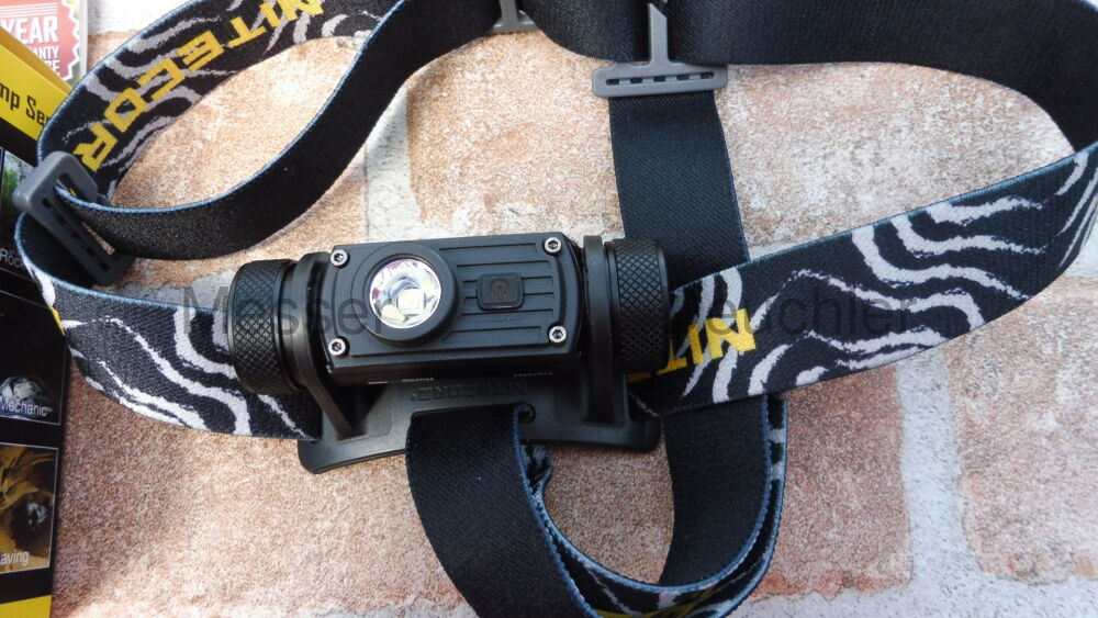 Nitecore HC60 aufladbare LED-Stirnlampe