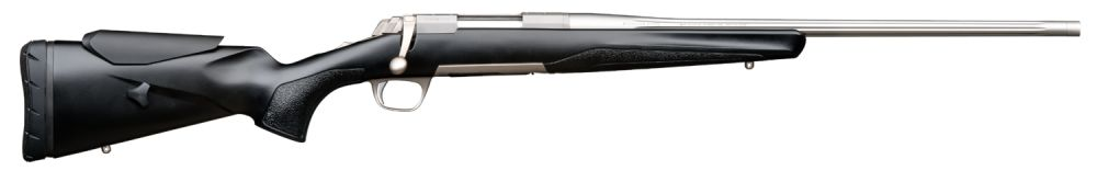 Browning X-Bolt Stainless mit Gewinde / Kannelierter Lauf / Verstellbare Schaftbacke