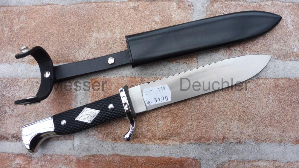 Linder Linder Pfadfindermesser mit Rückensäge