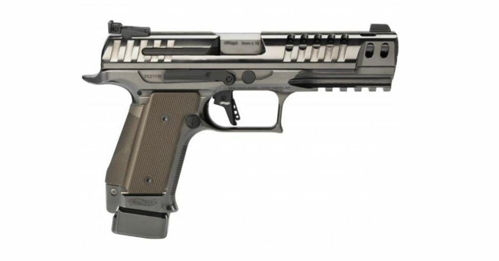 Walther NEU 2021 Pistole Q5 Match Steel Frame Black Diamond