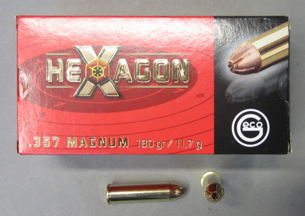 GECO 357 Mag. HEXAGON